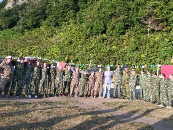 закрытие первой смены палаточного лагеря